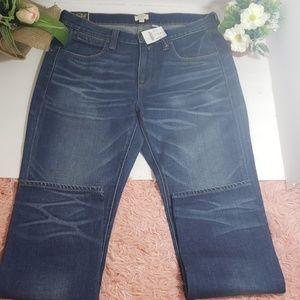 NWT J.crew boyfriend jeans size 28